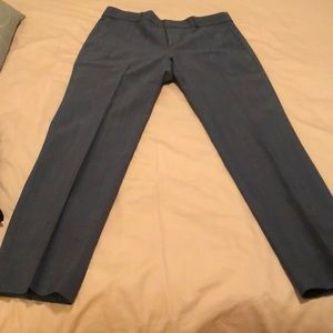 Banana Republic light blue ankle pants.